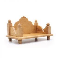 Beech Wood Pooja Mandir (Sinhasan for God / Mandasana / Pooja Mantapa)