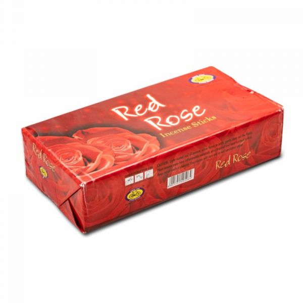Cycle Red Rose Agarbatti (Pack of 12)