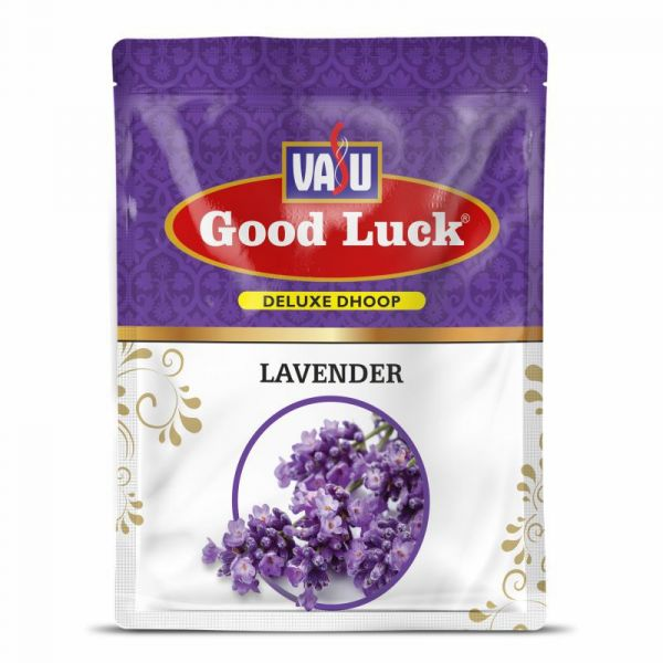 GoodLuck Lavender Wet Dhoop