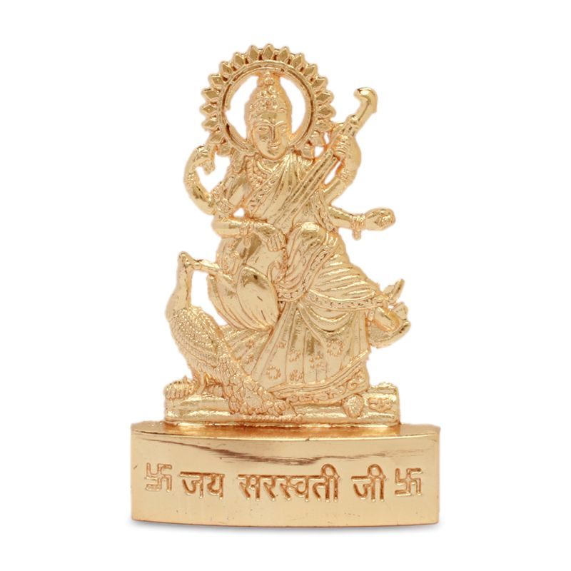Goddess Saraswati Idol Buy Puja And Dashboard Idols Online