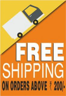 Free Shipping Above Rs.200/-